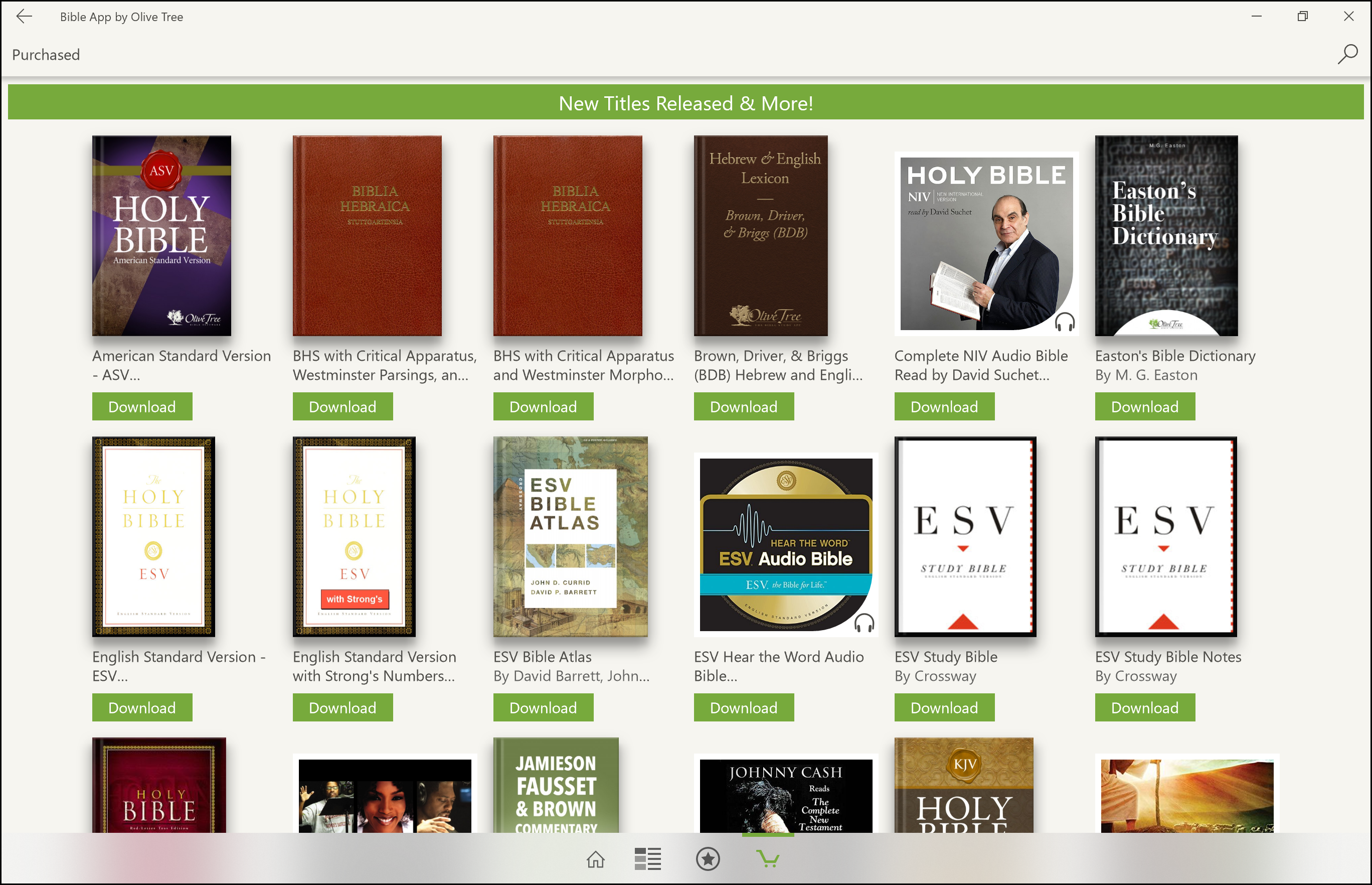 Windows - Downloading your Purchases – Olive Tree