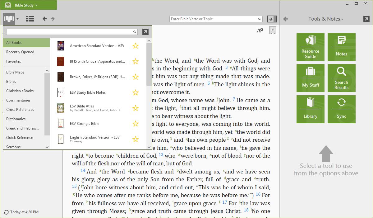 Windows Desktop - Downloading Your Books – Olive Tree