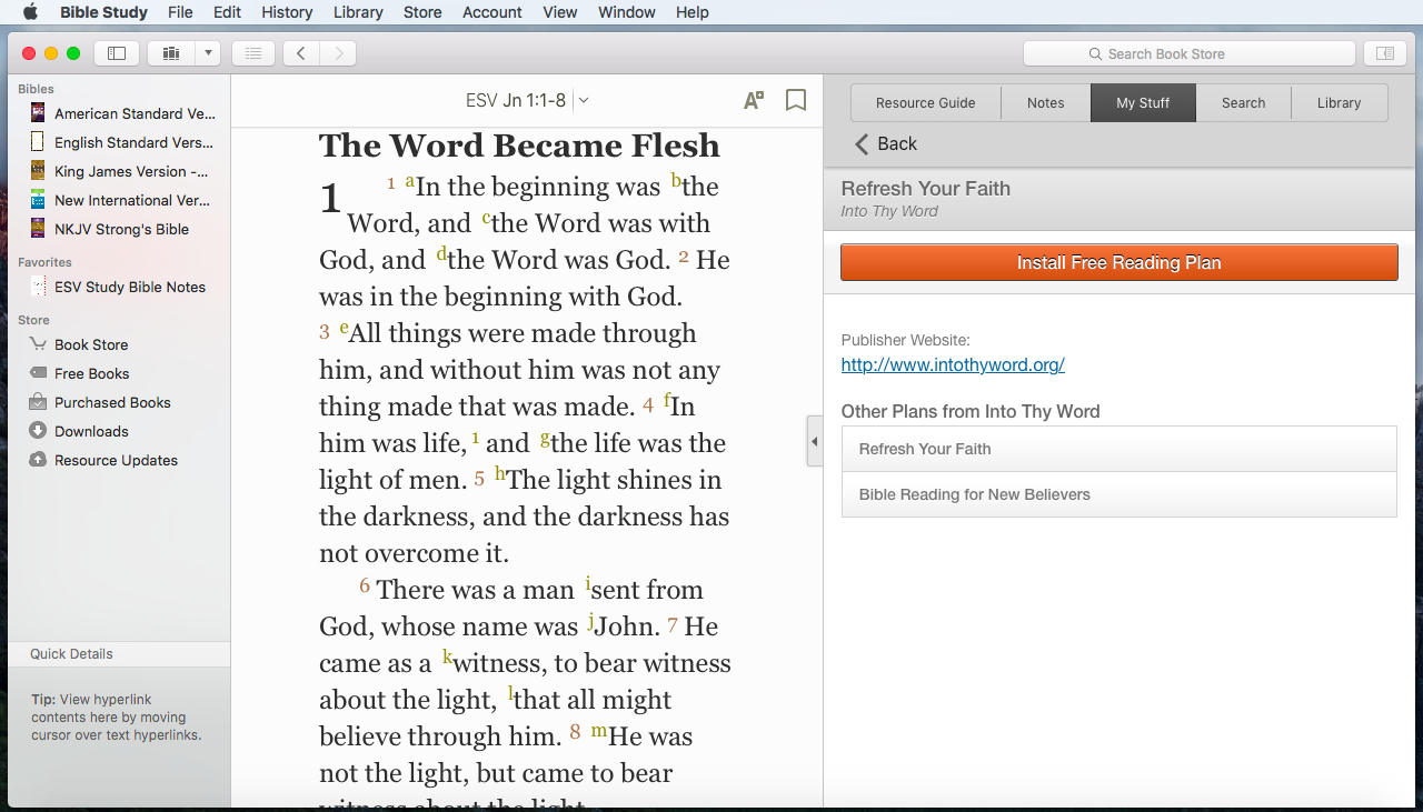 Nab bible for biblereader by olive tree bible software, inc.