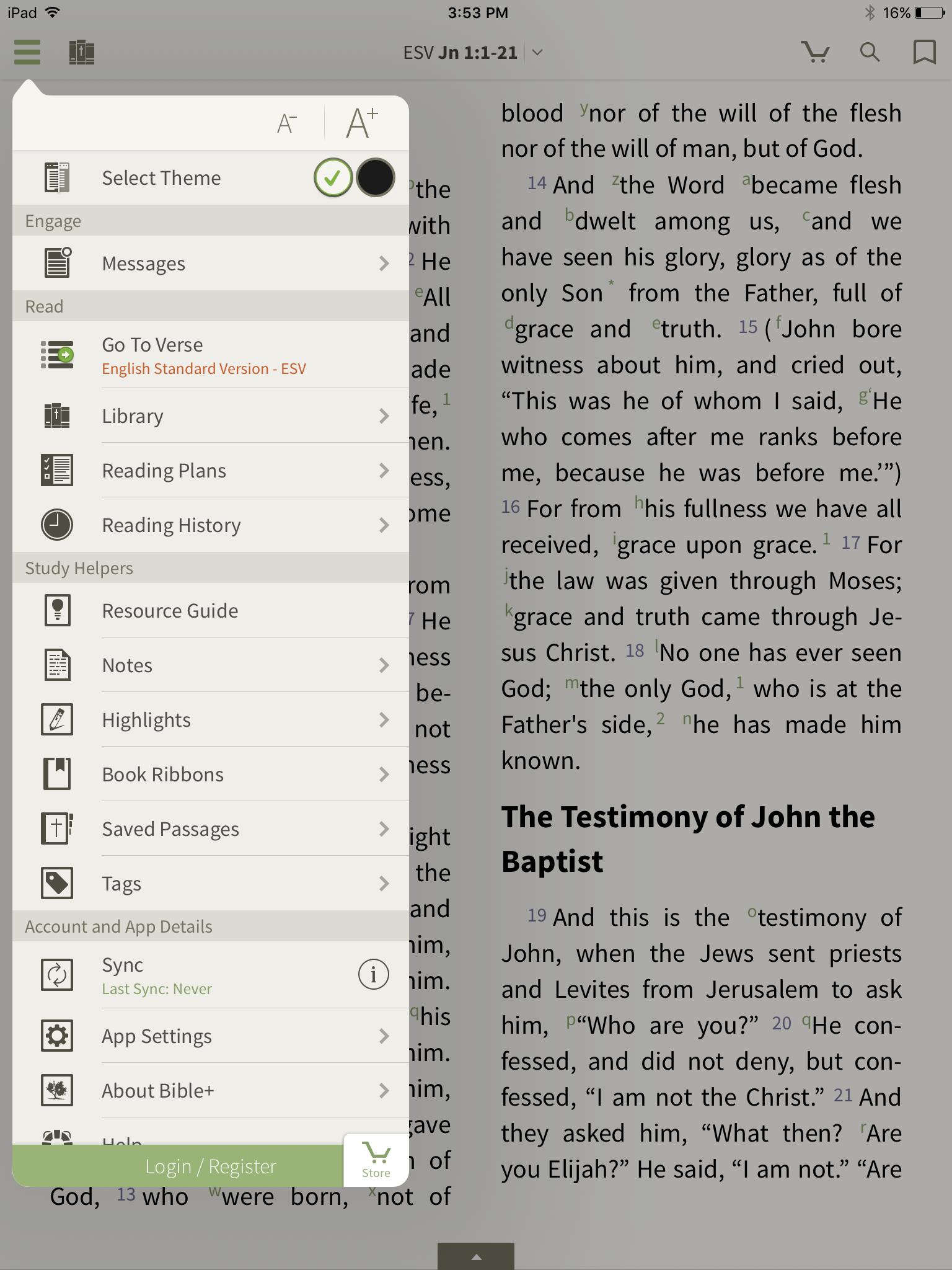 iPhone (OT 6 0) - Reading Plans – Olive Tree